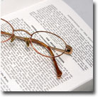 Book & Glasses